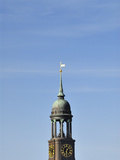 Church St Michaelis in Hamburg Photographic Print by Christian Ohde