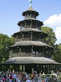 Chinesischer Turm Photographic Print by Peter Widmann