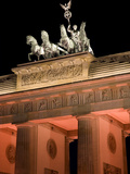 Festival of Lights Berlin Photographic Print by Gudrun Kolb