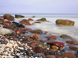Gravel Beach on the Island of Rügen Photographic Print by Joachim Opelka