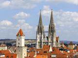 Cityscape Regensburg Photographic Print