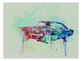 1968 Dodge Charger Prints by  NaxArt