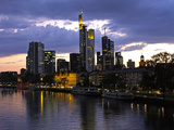 Frankfurt Am Main Photographic Print by Peter Widmann