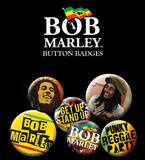 Bob Marley One Love Badge Pack Badge