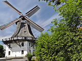 Windmill Johanna in Hamburg Photographic Print by Christian Ohde