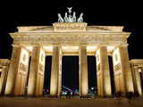 Brandenburg Gate Photographic Print by Sigbert Georgi