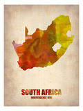 South African Map Prints by  NaxArt