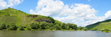 Moselle Near Burg Panorama Photographic Print by Beate Tuerk