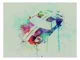 Ford Gt Top Watercolor Kunstdrucke von  NaxArt