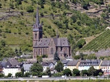 Parish Church of St. Boniface with the Rheingau Photographic Print