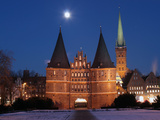 Historic Holsten Tor from Lübeck Photographic Print by Thorsten Nieder