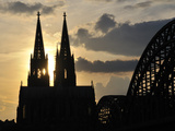 Cologne Cathedral Photographic Print by Walter Allgoewer