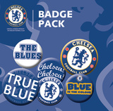 Chelsea Crests Badge Pack Badge