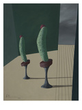 Mr. and Ms. Cucumber Prints by Vaan Manoukian