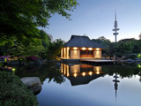 Park Planten Un Blomen in Hamburg Photographic Print by Christian Ohde