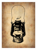 Vintage Lamp 3 Prints by  NaxArt