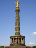 Victory Column Golden Else Photographic Print