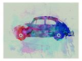 VW Beetle Watercolor 1 Print by  NaxArt