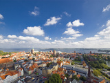 Aerial View of Stralsund Photographic Print by Frank Roeder