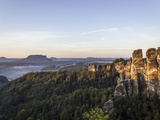 Saxon Switzerland in the Morning Photographic Print by Dietmar Wuth