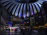Sony Center Photographic Print by Sorin Schuller