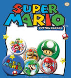 Nintendo Names Badge Pack Badge