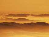 Sunset in the Black Forest Photographic Print