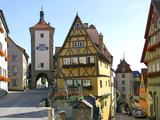 Rothenburg Ob Der Tauber Photographic Print by Peter Widmann