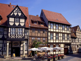 Quedlinburg Marketplace Photographic Print