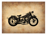 Vintage Motorcycle 1 Art by  NaxArt