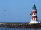 Lighthouse Kaiserschleuse-Ostfeuer Photographic Print by  Marschall