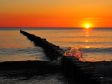 Sun Down Photographic Print by Dieter Moebus