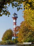 Lighthouse Wittenbergen in Hamburg Photographic Print