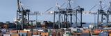 Harbour of Bremen Gantry Cranes Photographic Print by Felix Clebowski