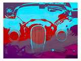 Jaguar Front End Affiches par  NaxArt