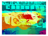 Porsche 917 Watercolor Art by  NaxArt