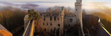 Auerbach Castle Panorama at Sunset Photographic Print by Sorin Schuller