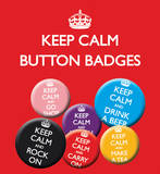 Keep Calm & Carry On Badge Pack Badge
