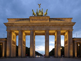Brandenburg Gate Photographic Print by Peter Widmann
