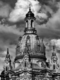 Dresden Frauenkirche Church Rebuilding Photographic Print by Andreas Thomaier
