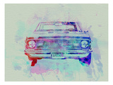 Chevy Camaro Watercolor 2 Affiche par  NaxArt