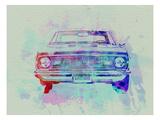 Chevy Camaro Watercolor 2 Affiche par  NaxArt