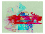 Alfa Romeo  Watercolor 2 Print by  NaxArt