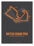 British Grand Prix 3 Affiches par  NaxArt