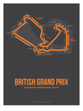 British Grand Prix 3 Posters by  NaxArt
