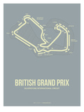 British Grand Prix 1 Posters by  NaxArt