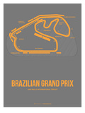 Brazilian Grand Prix 1 Print by  NaxArt