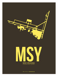 Msy New Orleans Poster 3 Posters by  NaxArt