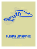 German Grand Prix 2 Poster by  NaxArt