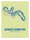 Japanese Grand Prix 2 Posters by  NaxArt